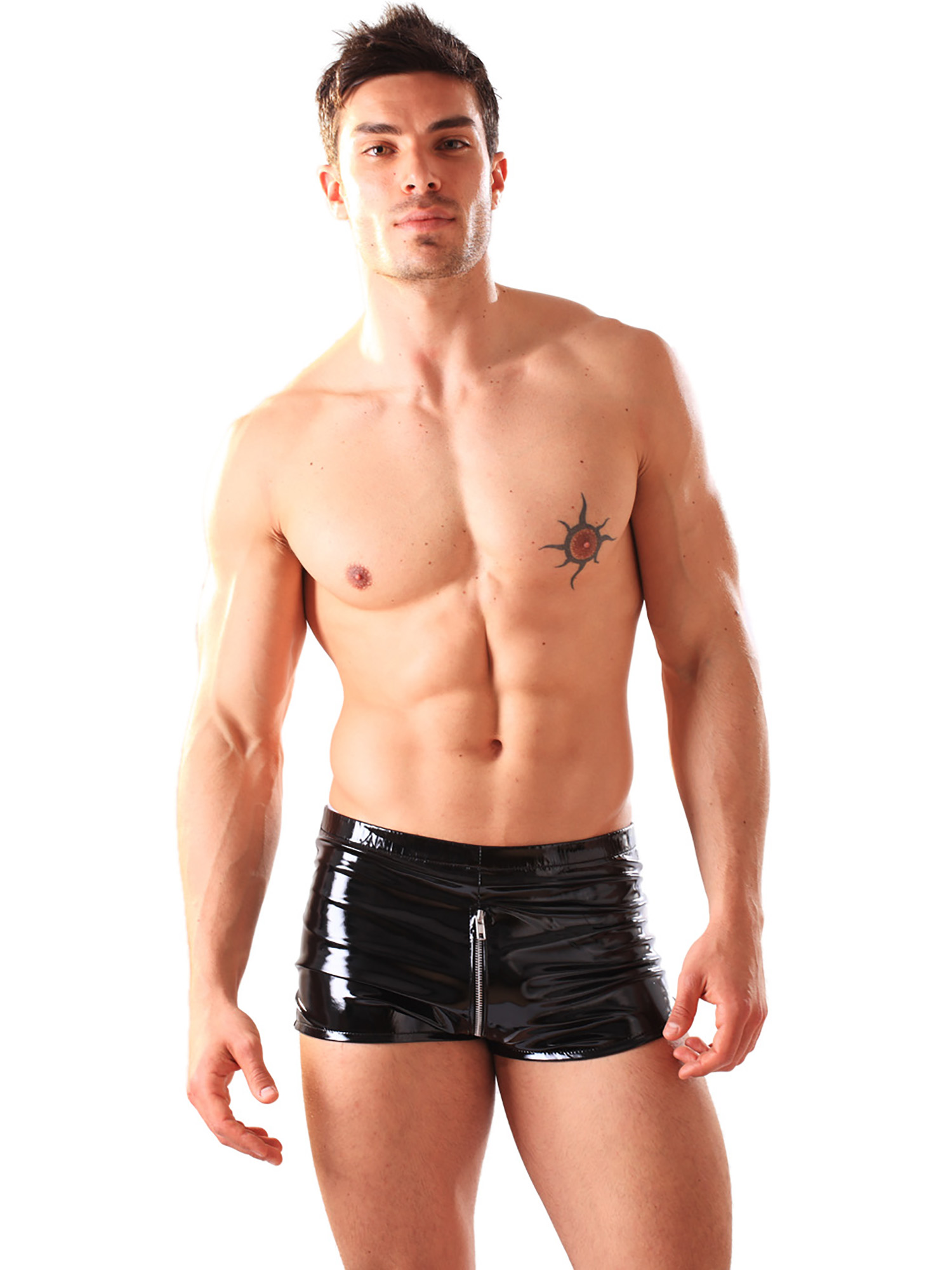 Honour Men's Kinky Boxer Shorts Underwear in Smooth Shiny ...