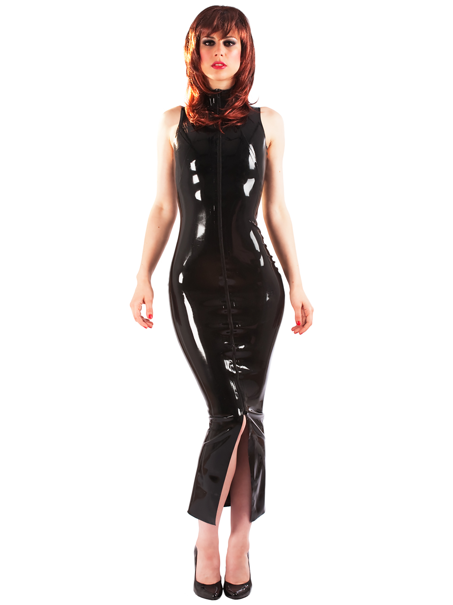 Latex clothes women