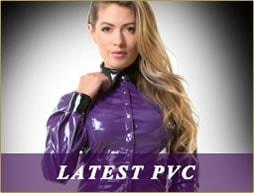 Latest PVC clothing