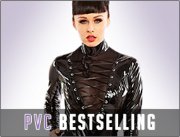 Bestselling PVC clothing