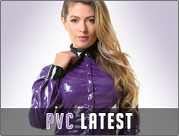 Latest PVC clothing