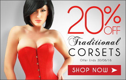 20% Off Traditional Corsets