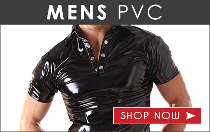 Mens PVC Clothing
