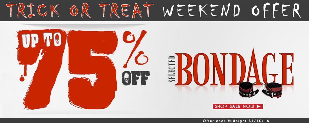 Trick Or Treat Weekend Offer