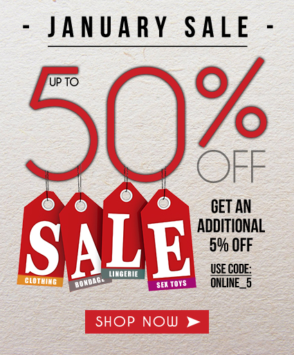 January Sale - Up To 50% Off
