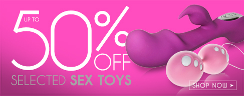 Up To 50% Off Selected Sex Toys